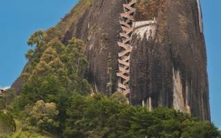 Монолит Эль-Пеньон-де-Гуатапе, Колумбия — обзор