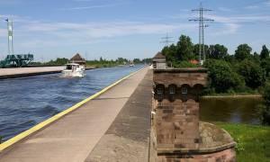 Среднегерманский канал, Германия — обзор