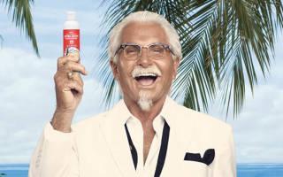 Гигантский логотип KFC, США — обзор