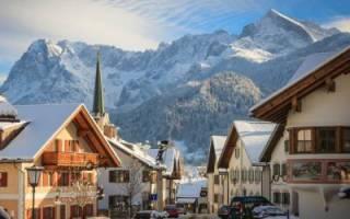 Гармиш-Партенкирхен — обзор и отзывы лыжного курорта