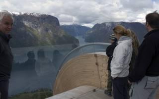 Смотровая площадка Aurland Lookout, Норвегия — обзор