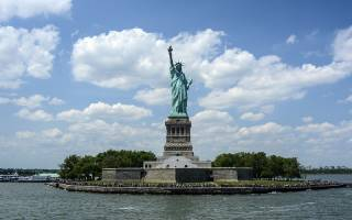 Лестница Статуи Свободы, США — обзор