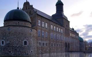 Вадстенский замок, Швеция — обзор