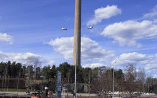 Башня Нясиннеула, Финляндия — обзор