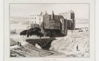 Замок Данвейган, Шотландия — обзор