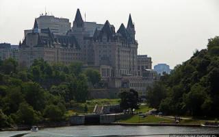 Канал Ридо, Канада — обзор