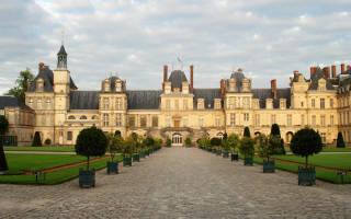 Дворец и парк Фонтенбло, Франция — обзор