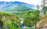 Каньон реки Тары, Черногория — обзор