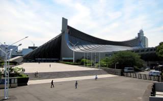 Национальный стадион Йойоги, Япония — обзор